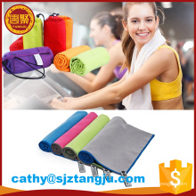 China mannufacturer supplier textile high quality plain pva cooling sport towel