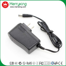 UL FCC DOE Level VI genehmigt 12V1a AC DC Adapter