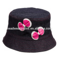100% cotton revers bucket hats