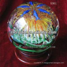 belle boule de cristal k9 K061