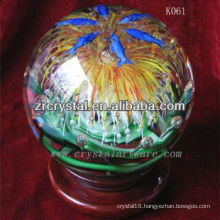 nice k9 crystal ball K061