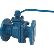 Carbon Steel Lined Ball Valve For Chemical Corrosion Resist