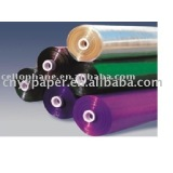 color cellophane paper roll