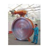Metal To Metal Seated Design Butterfly Valve
