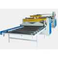 Semi-Automatic Hot Roll Laminating Line in Woodworking