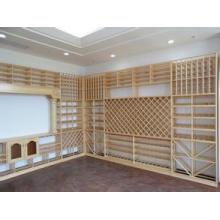 Umweltfreundliche Bambusweinregal 002