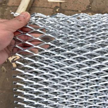 Rede de arame expandida alumínio da grade do metal do furo pequeno