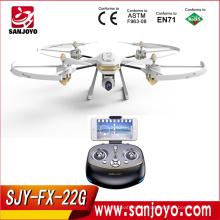 SJY-FX-22G Long Time Flying GPS Drone With Wifi FPV 720P Camera RC Drone With Follow Me VS Hubsan H507A