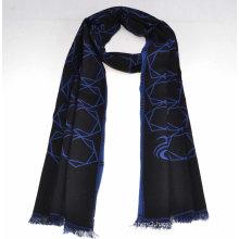 2014 Fashion 100%Mercerized Wool Scarf