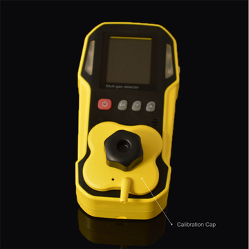 CD4 Gas Detector Dengan Aplikasi LED Wildy Screen