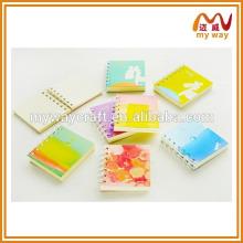Papéis de papelaria coreanos mais bonitos da mini memorando colorido
