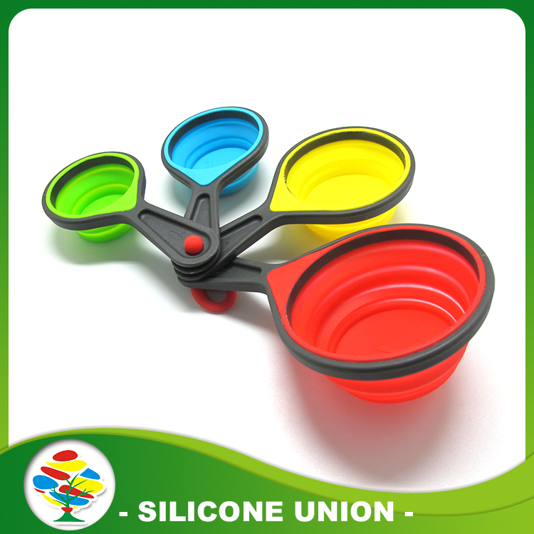 Silicone Measuring Cups Baking Coffee Measuring Spoon