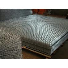 Verzinkte geschweißte Drahtgewebe, Verstärkung verzinkter Stahlbau Geschweißte Drahtgewebe, PVC beschichtete Kettenglied Zaun Diamant Drahtgeflecht