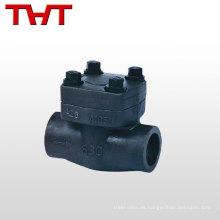 Tipo de oblea estándar de importación barata doble válvula de retención de oscilación