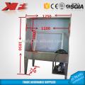 stainless steel washing tank screen printing