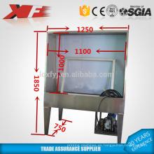 impresión de pantalla de tanque de lavado de acero inoxidable