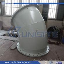 Tuyau en acier au carbone à double paroi soudé haute pression pour dragueur (USC-6-002)