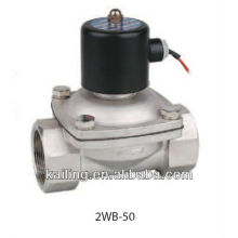 2/2-way fluid solenoid valve with stainless steel body