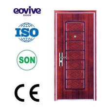 Oberflächenveredelung Stahl billig Sicherheits-Tür