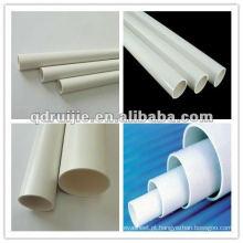 Alta qualidade e o melhor tubo de drenagem de PVC preço faz a máquina