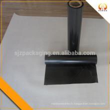 Film de polyester mylar noir 36 microns pour fabrication de diaphragmes de film sonore