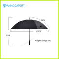 Heißer verkaufender fördernder kundengebundener Firmenzeichen gedruckter Polyester-Regenschirm