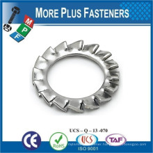 Made in Taiwan External Tooth Lock Washer Zinc Plated Ctsk Ext Tooth Lock Wsh Stainless Steel External Tooth Lock Washer
