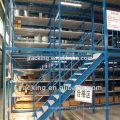 Jracking Uso en el interior Heavy Duty Mezzanine Storage Shevling Racking