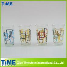Цвет наклейки на стекло печать чашка сока (РВ-171)
