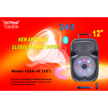 12 Inch Trolley Stage Speaker with Good Price F22S-16