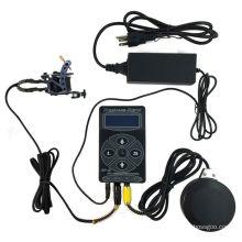 PS108011 redonda kits de suministro de alimentación de tatuaje clip de la cuerda pedal interruptor conjunto