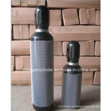 Размеры цилиндра с азотом под давлением Hiqh