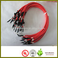 electro bicycle or electro car battery cable with ring terminal,number tube and heat-shrinkable tube