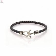 Fabricant de bijoux de mode pour le nouveau bracelet en cuir de conception de femmes