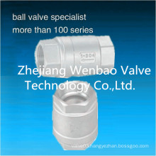 Stainless Steel Vertical Check Valve 1000 Wog