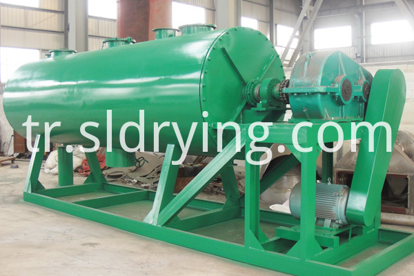 Barium sulfate dryer