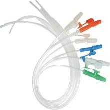 Cateter de sucção infantil PVC descartável