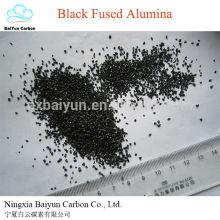 Fabricant meilleures ventes haute dureté Black Fusionné Oxyde d'Aluminium corindon pierre
