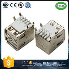 Fbusba2-115f Тип USB двойной разъем USB разъем (FBELE)