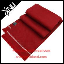 Bufandas de seda al por mayor impresas aduana de los puntos de la marina de costa de la bufanda de los 16MM
