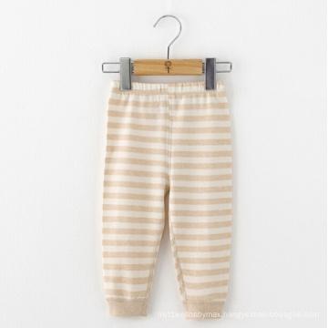 100% Organic Cotton Baby Infant Stripe Pants
