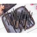 high quality silver handle makeup brushes set