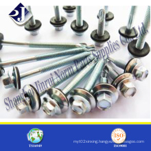 Assembled Neoprene Washer Hex Self Drilling Screw