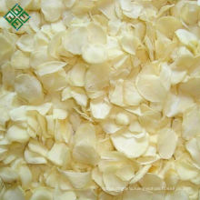 Pure white dried garlic slice dehydrated garlic flakes