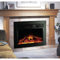 """34"""" classic insert electric fireplace with polystone mantel"""
