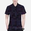 Check Modal Fabric Check Shirt Fabric Occupational Apparel