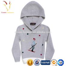 Enfants Pull en laine Pulls à capuche enfants bon marché