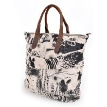 Simple Casual canvas handbag for girl
