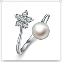 Fashion Ring Pearl Jewelry 925 Sterling Silver Jewelry (CR0067)