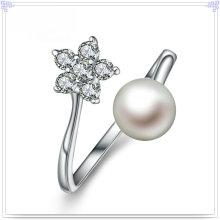 Ювелирные изделия стерлингового серебра 925 ювелирных изделий способа кольца перлы (CR0067)